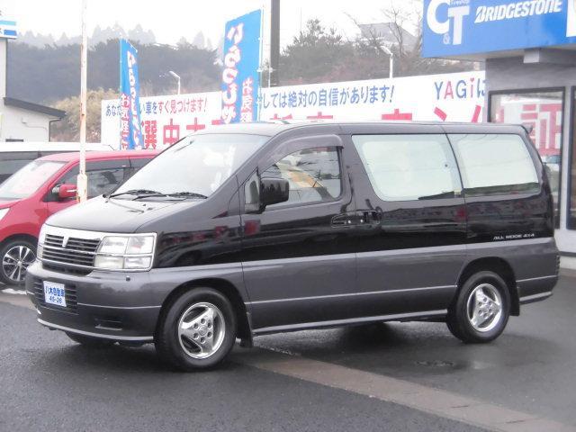 日産 V ターボ ツインサンルーフ HDDナビ ETC 4WD