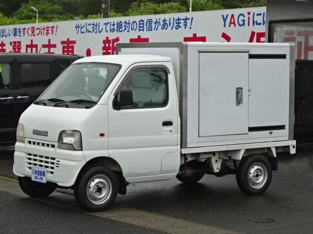 スズキ 冷蔵冷凍車 4WD