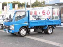 キャンター全低床ダンプ 4WD