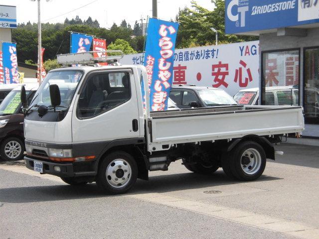 三菱ふそう 平ボディ 4WD