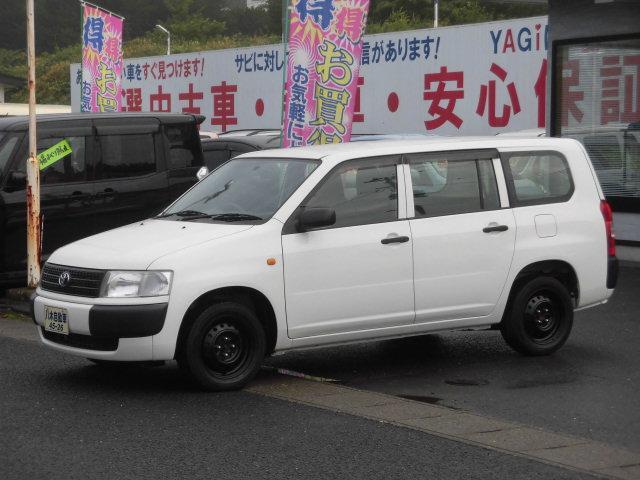 トヨタ プロボックスバン DXコンフォートパッケージ エアコン 運転席パワーウィンドウ ETC キーレス 4WD