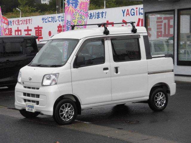 ダイハツ デッキバンG リミテッド 4WD キャリア 荷台シート付