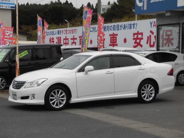 トヨタ クラウン ロイヤルサルーンi-Four ナビパッケージ ナビ TV HID ETC エンジンスターター 4WD