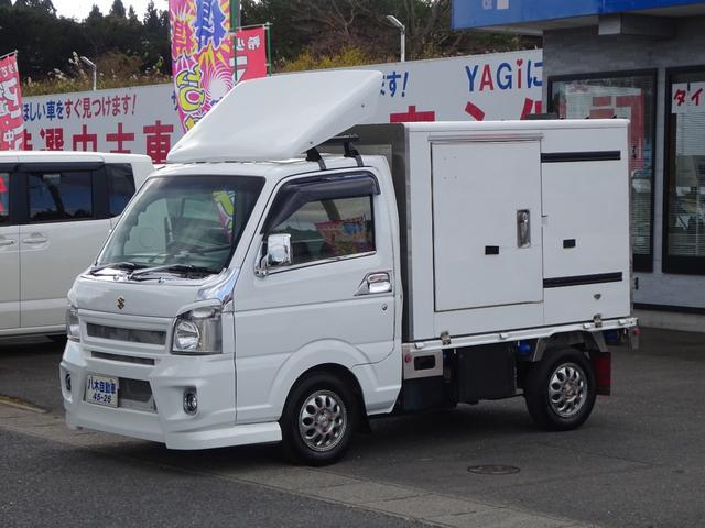 スズキ  冷蔵冷凍車 ドラレコ 社外品 ETC 4WD