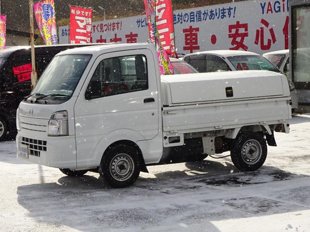 マツダ KCエアコン・パワステ トラボ保冷ボックス付き 切替式4WD
