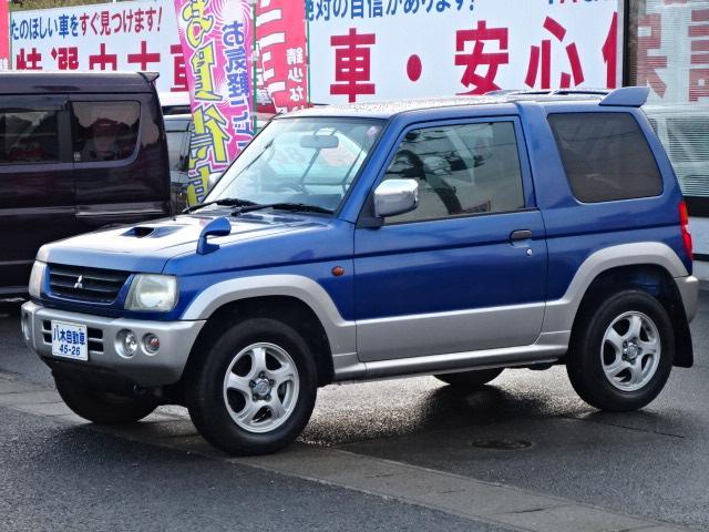 三菱 V ポータブルナビ キーレス ターボ 4WD