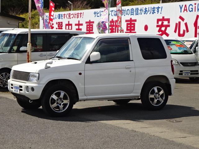 三菱 アクティブフィールドエディション キーレス ETC ターボ ワンオーナー 4WD
