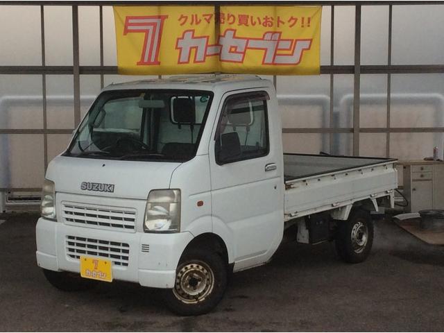 スズキ KCエアコン・パワステ 4WD ワンオーナー