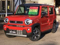 ハスラーハイブリッドX 届出済未使用車 4WD セーフティサポート