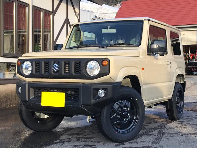 スズキ XL 4WD 4速オートマ 届出済未使用車 スズキセーフティサポート未装着車