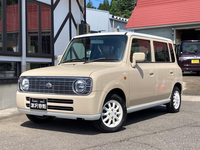 スズキ アルトラパン L ルーフ白塗装仕様 4WD HIDライト シートヒーター キーレスエントリー 車検整備付き