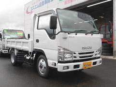 エルフトラック4WDICターボ フルフラットローSG 2t強化ダンプ三方開
