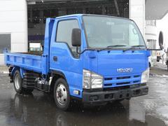 エルフトラック4WD ICターボ FFローST 2t強化ダンプ Wタイヤ