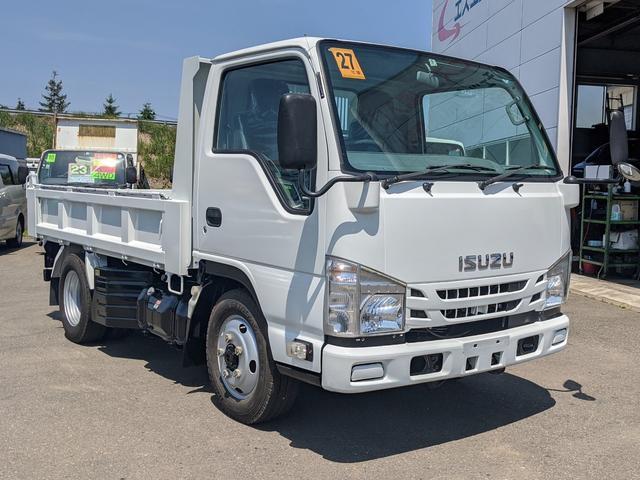 いすゞ エルフトラック 4WD 2.8t強化ダンプ 外装仕上済 ICターボ フルフラットローST