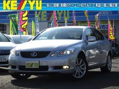 GS GS350 4WD 寒冷地仕様 茶本革シート 純正エンスタ
