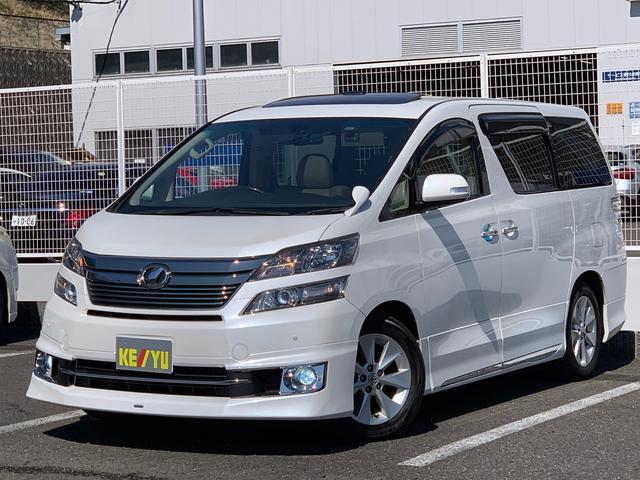 トヨタ 3.5V Lエディション ツインサンルーフ ベージュ革シート