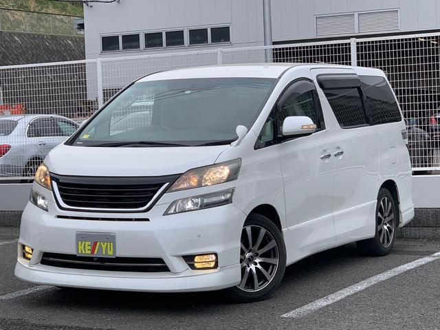 トヨタ 2.4Zプラチナムセレクション フルセグHDDナビ 両側電動