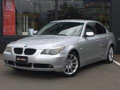 BMW525iハイラインパッケージ 純正ナビ 革シート