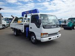エルフトラック3.5t ワイドロング タダノ3段ラジコンフックイン