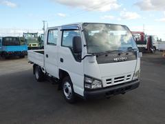 エルフトラック0.95t フルフラットロー Wキャブ 4WD