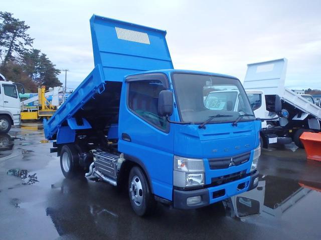 三菱ふそう 3.0DT 2t 全低床ダンプ 4WD
