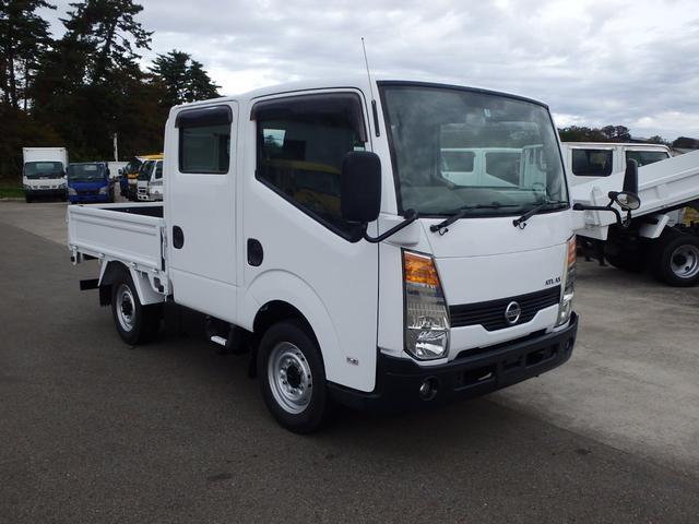 日産 アトラストラック 1.15t WキャブフルスーパーローDX 4WD