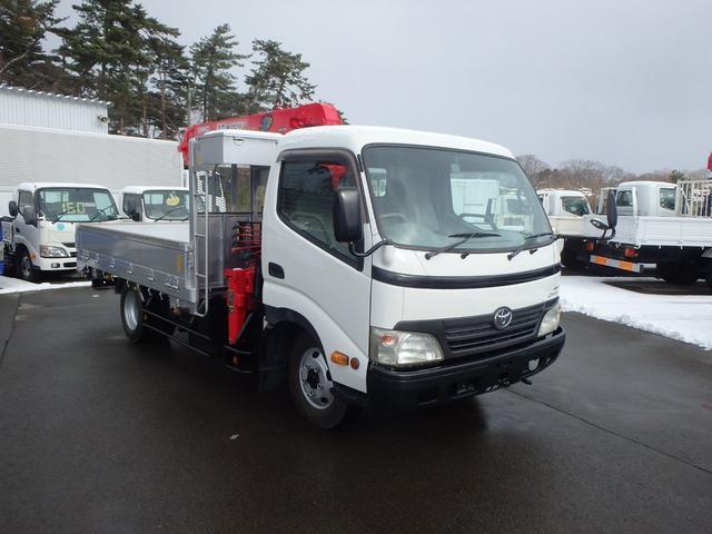 トヨタ ダイナトラック 2.65t ワイドロング 4WD ユニック3段 ラジコン