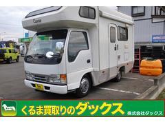 エルフトラックキャンピング4WD 3.1軽油 7人乗 カプリス 独立サス