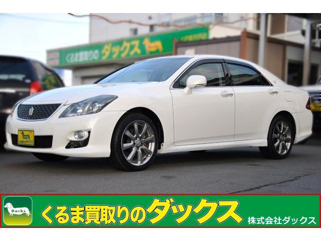 トヨタ アスリートナビP HDD地デジBカメラF電動シート新品タイヤ