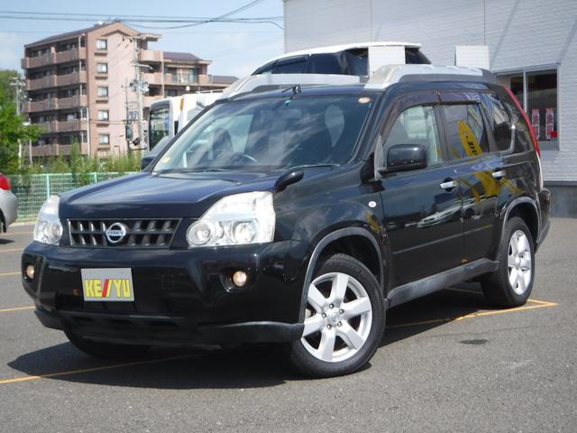 日産 20X 4WD ワンオーナー HDDナビTV カプロンシート