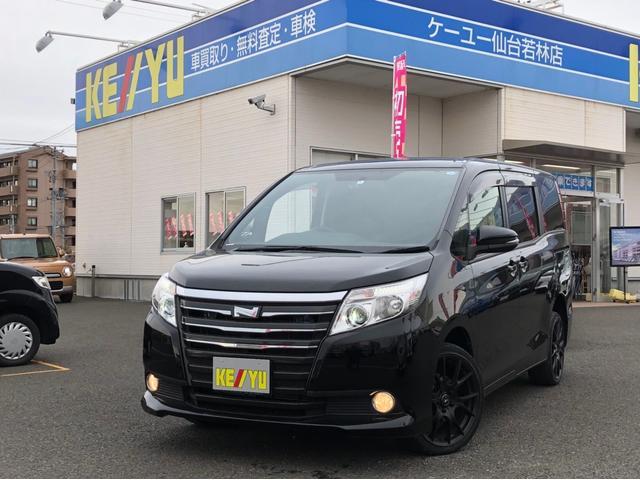トヨタ X 4WD 禁煙車 両側自動ドア 後席モニター 純正SDナビ