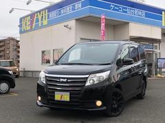 ノアX 4WD 禁煙車 両側自動ドア 後席モニター 純正SDナビ