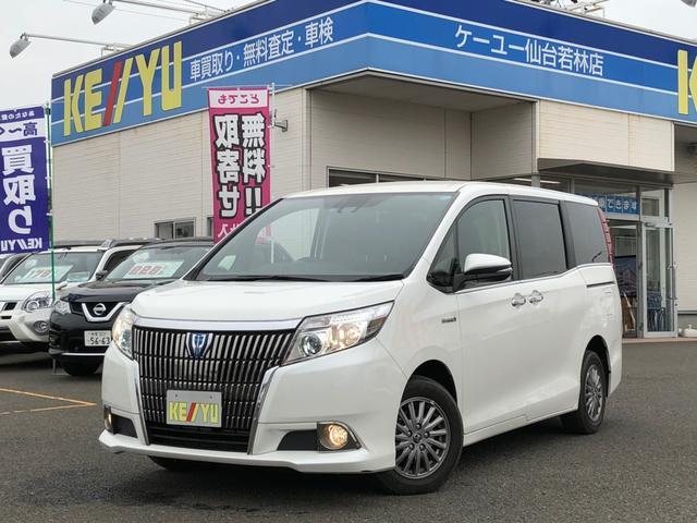 トヨタ ハイブリッドGi 禁煙車 セーフティセンス 8型SDナビ