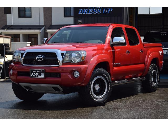 米国トヨタ 新車並行 ワンオーナーWキャブ 4WD TRD TX-PRO
