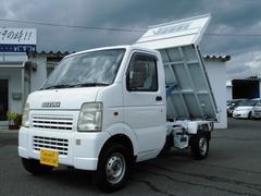 キャリイトラックダンプ 切替式4WD エアコン パワステ タイミングチェーン