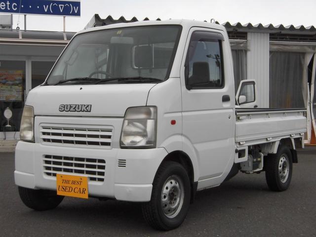 スズキ KCエアコン・パワステ 切替式4WD タイミングチェーン