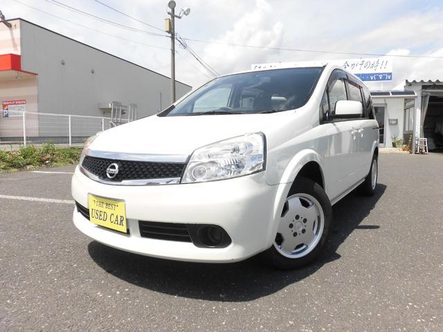 日産 ラフェスタ ジョイX 4WD ナビ・TV・Bモニター パワスラ