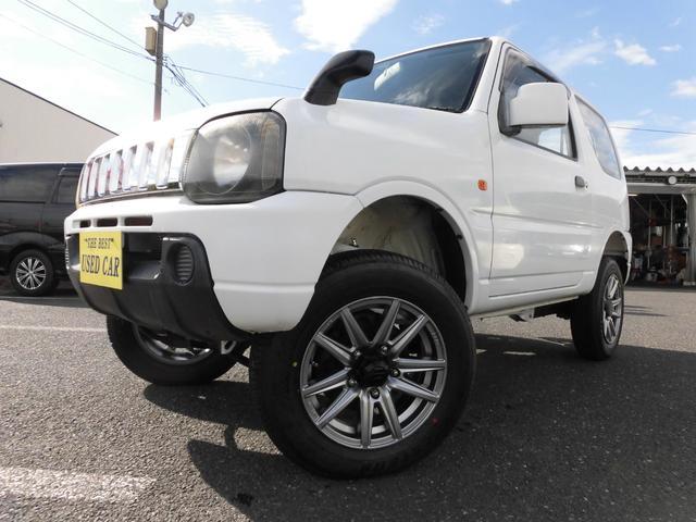 スズキ XG ターボ4WD キーレス 新品リフトアップ 新品タイヤ装着 塩カルガード外装仕上げ
