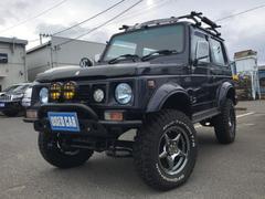 ジムニーシエラベースグレード 4WD リフトアップ 社外マフラー 5MT