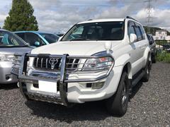 ランドクルーザープラドTX 4WD AW17インチ CD MD ETC SUV