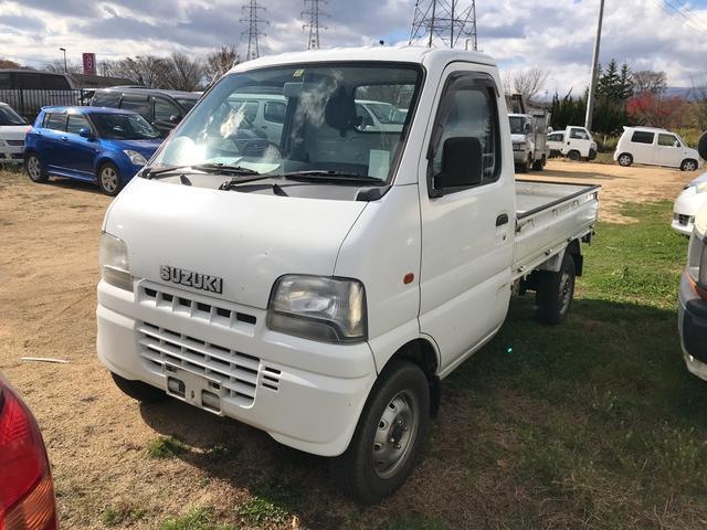 4WD MT 軽トラック ホワイト(1枚目)