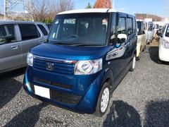 N BOX+G・Lパッケージ ナビ 軽自動車 ブルーII CVT AC