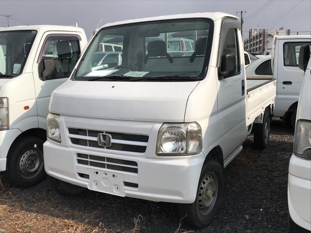 ホンダ SDX 4WD AC MT 軽トラック ホワイト