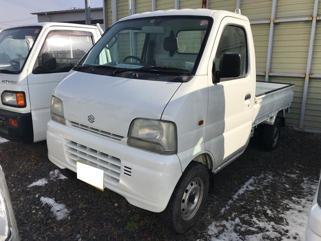 スズキ 4WD MT 軽トラック 2名乗り ホワイト