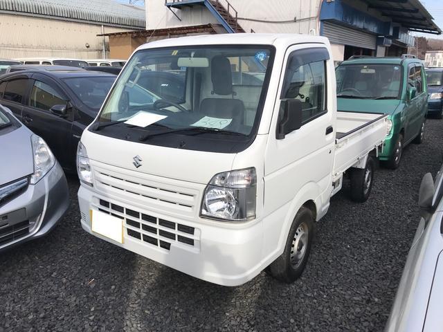 スズキ 4WD MT 軽トラック ホワイト PS