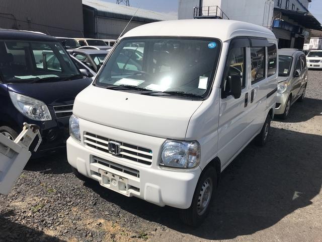 ホンダ 4WD AC AT 軽バン ホワイト PS