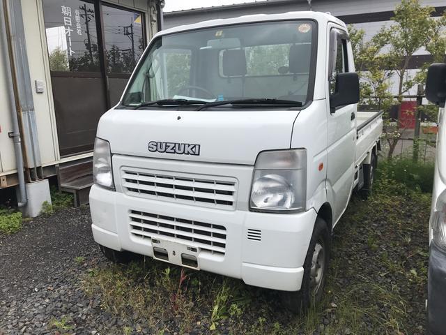 スズキ 4WD AC MT 軽トラック ホワイト PS