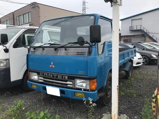 三菱ふそう トラック ダンプ MT ブルー ディーゼル