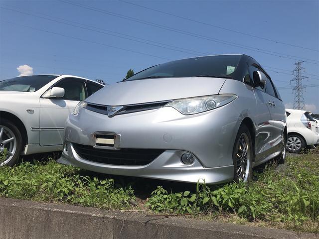 「トヨタ」「エスティマ」「ミニバン・ワンボックス」「福島県」の中古車