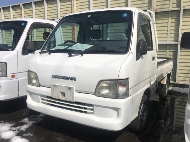 スバル 4WD AC MT 軽トラック ホワイト エアバック
